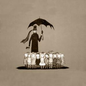 Illustration Edward Gorey