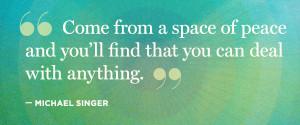 Michael Singer's 12-Step Guide to Spiritual Awakening