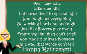 Retirement Quotes For Teachers Retirement Quotes For Teachers