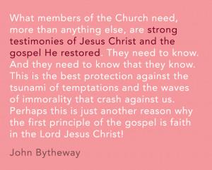 John Bytheway Jesus Knows That