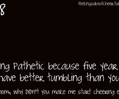 Cheer Tumbling Quotes years ago heart this image 167