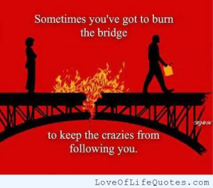 Sometimes You Have Burn The