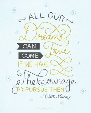 ... Disney Quotes, Walt Disney, Waltdisney, Dreams Big, Inspiration Quotes