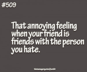 friendship hate quotes