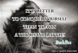 ... Buddha View more #quotes @ http://quotes-lover.com/ Tags: #Battles, #