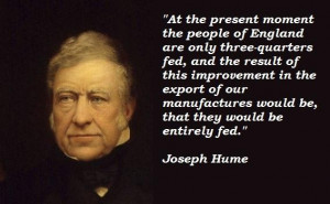 Joseph hume famous quotes 1