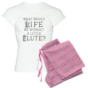 flutist pajamas