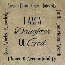 Am A Daughter Of God - Young Women's Values