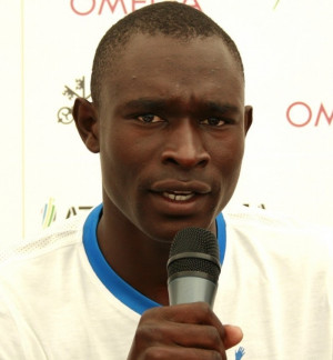 David Rudisha, the 800-meter Wrold Record-holder, says he's excited to ...