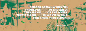 The following post was submitted by Charles Barr, school social worker ...