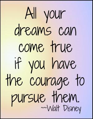 Walt Disney Quotes...