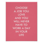 Custom Inspirational Sayings Confucius Quotes Pink Poster Custom ...
