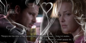 Grey's Anatomy Izzie quote - S5E04