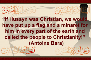 Antoine Bara saying about Imam Hussain A.S by YpakiAbbas