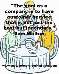 Customer Service Excellence Quote – Sam Walton
