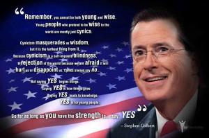 Stephen Colbert – Commencement Speech