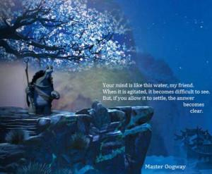 Kunfu Panda, quotes, Master Oogway