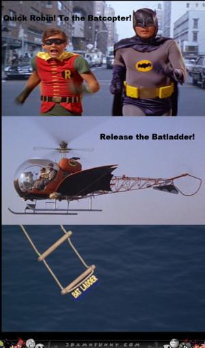 The Super Cheesy Batman Series, Nananana Batladder !
