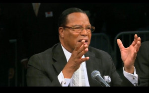 "... Farrakhan on ""Django Unchained"": '…It's Preparation for Race"
