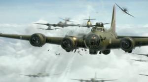bomber world war ii b17 flying fortress mission 1920x1080 wallpaper ...