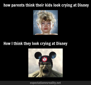 Tantrums at Disney World