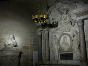 The tomb of the Sun King, Louis XIV (1638-1715) king of France 1643 ...