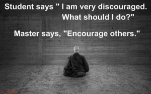 ... quote about encouraging others to inspire and encourage yourself