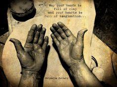 ... Potter Hands ~ Chrysalis Pottery www.facebook.com/BarbJohnson.pottery