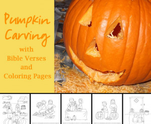 pumpkin carving with bible verses by celebrating holidays includes ...