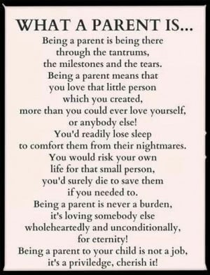 Being a Parent is a GIFT!!!
