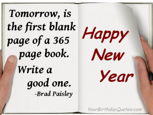 New Year Quotes And Sayings Love