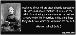 More Hannah Whitall Smith Quotes
