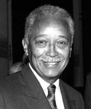 David Dinkins: There shall be no white allowed in the gorgeous mosaic