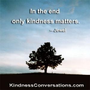 kindness respect and appreciation