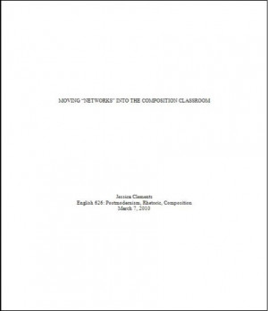 This image shows the title page of a CMS paper.