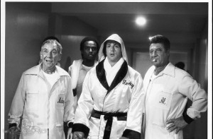 ... Of Sylvester Stallone And Burgess Meredith In Rocky II (1979) Picture