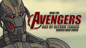 How The Avengers: Age of Ultron Teaser Should Have Ended is creepy and ...