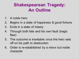 What is the difference between Greek tragedy and Shakespearean tragedy?