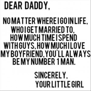 dear daddy, love quotes