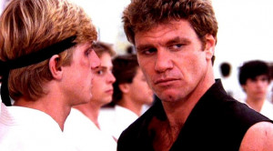 Johnny Lawrence; Sensei Kreese; Karate Kid.. but the guy in the ...