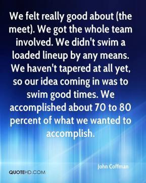 nbac swim meet quotes