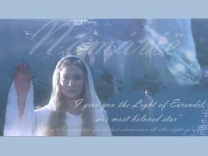 ... più amata dagli Elfi, come Galadriel dirà a Frodo molto tempo dopo