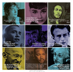 Pictures Gallery of life quotes by famous people