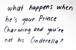 ... , charming, cinderella, girl, girlfriend, love, prince, quote, quotes