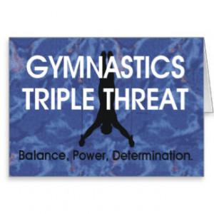TOP Gymnastics Triple Threat (Men's) Cards