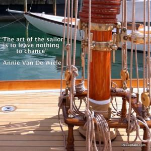sailing quote,inspirational quote,sailboat quotes, annie van de wiele