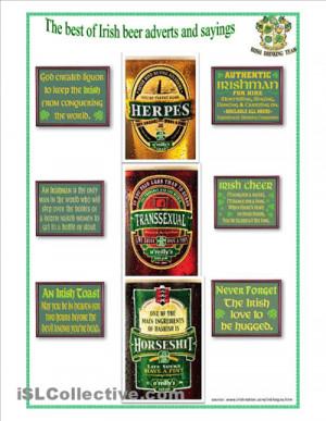 Irish Drinking Proverbs
