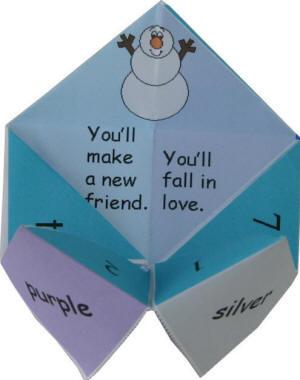 Origami Maniacs: Origami Fortune Teller