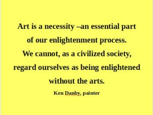 Artful Quote: Ken Danby - Day 141
