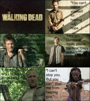 The Walking Dead Quotes by Green423